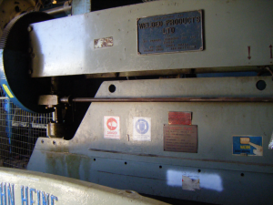 Bliss Welded Products Press Brake Series 3006
