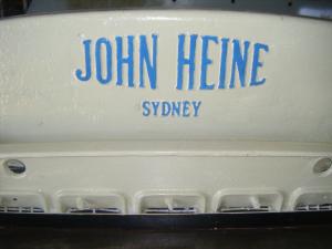 John Heine 108B Guillotine 108B - 8ft x 10 gauge